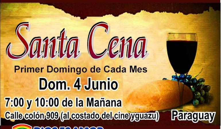 Santa Cena – 4 de junio